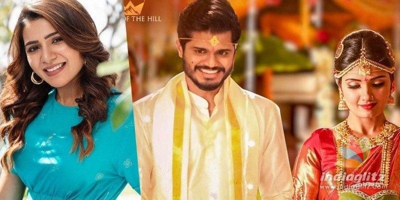Samantha to unveil wedding song from Pushpaka Vimanam