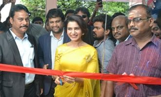 Samantha Launches Bigc @ Madhurai