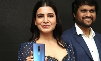 Samantha Launches Oneplus Mobile @ Big C