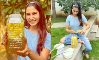 Actress Samantha Akkineni Making Bio Enzymes At Home | IndiaGlitz Telugu Movies