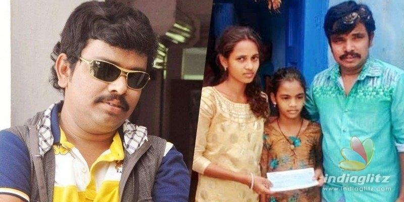 Sampoornesh Babu, Sai Rajesh reach out to orphaned kids