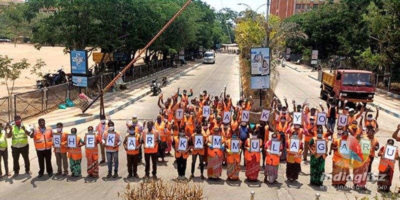 Sanitation workers give Sekhar Kammula his biggest award