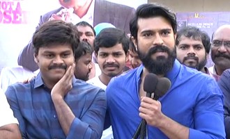 Ram Charan Launched 'Sapthagiri LLB' Theatrical Trailer