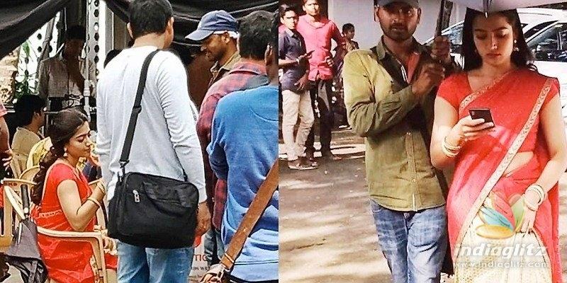 On-location pics engage Mahesh Babus fans