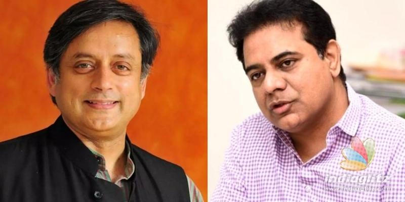 Shashi Tharoor shocks KTR and how!