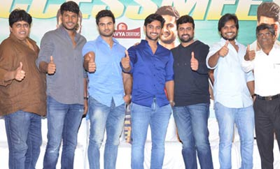 'Shamanthakamani' Success Meet