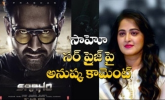 Anushka comments on Saaho surprise