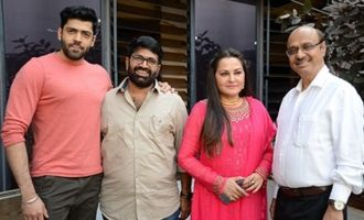 'Sharabha' Press Meet