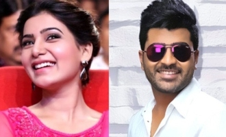 Samantha is the best: Sharwanand