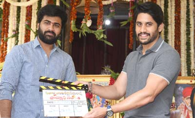 Sharwanand-Sudheer Varma New Movie Opening