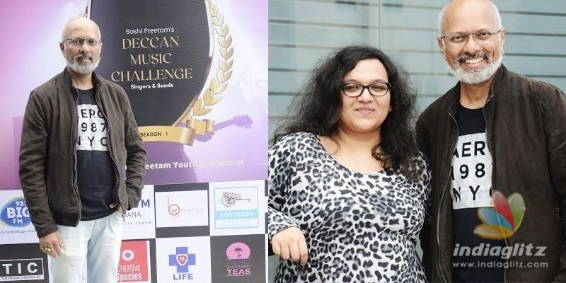 Shashi Preetam, Aiswarya Krishna Priya launch Deccan Music Challenge to encourage new talent