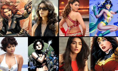 Feature Article: Tollywood Actresses Re-Imagined as Super-Heroines