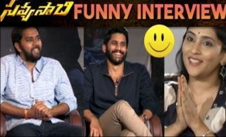 Savyasachi Movie Team special interview