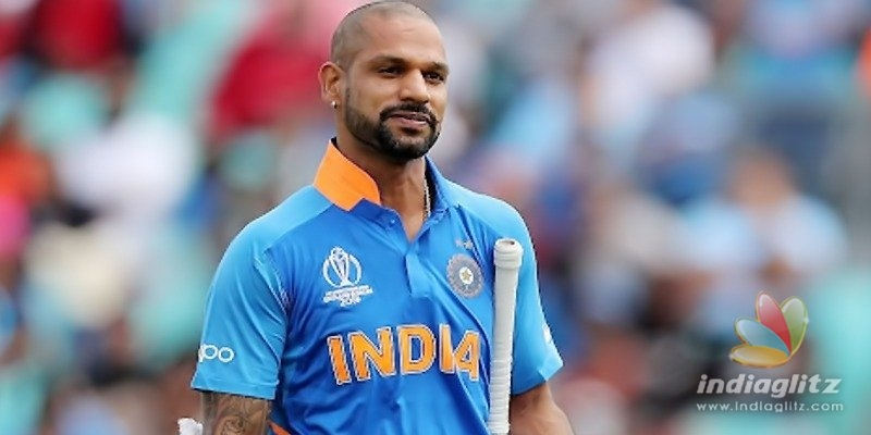 No Shikhar Dhawan in the World Cup