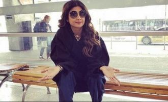 Airport staff treats Shilpa Shetty badly, she gets angry