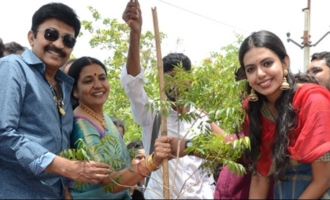 Shivani Rajasekhar participates in Haritha Haram, plays with Devanar kids on birthday