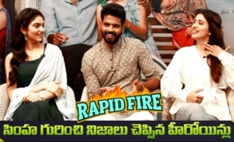 Rapidfire With Simha Koduri