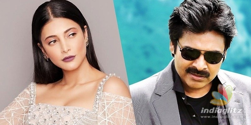 Shruti Haasan breaks silence on rumour about Pawan Kalyans movie