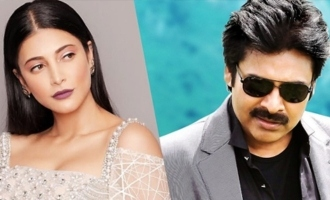Shruti Haasan breaks silence on rumour about Pawan Kalyan's movie