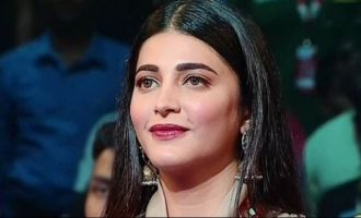 Shruti Haasan performs at Pro Kabaddi event