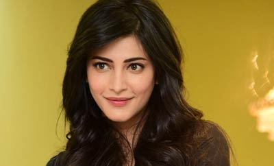 Nobody asks that about male stars: Shruti Haasan