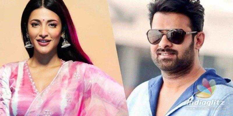 Shruti Haasan opens up about Prabhas