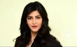 Shruti Haasan's gig time in London
