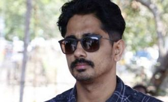 Sexual allegations: Siddharth says 'Verify'