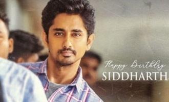 Siddharth's 'Maha Samudram' look unveiled