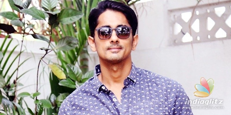 I am getting threats: Siddharth