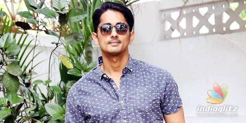 Siddharth is frustrated with paithyam of fans