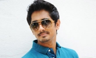 Siddharth announces his comeback!