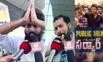 Sarkar Telugu Public Talk