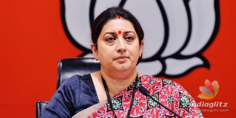 TRS, MIM are putting illegals on voters list: Smriti Irani