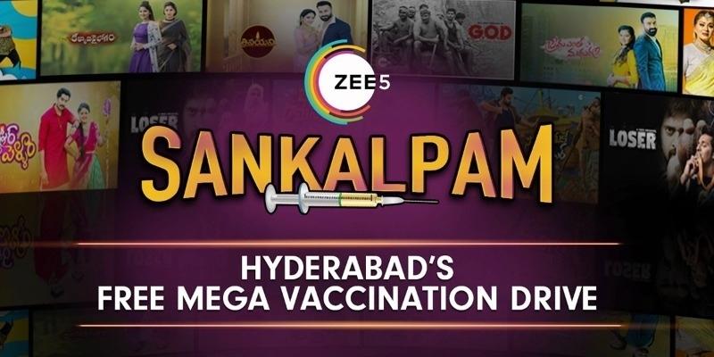 ZEE5 Announces Sankalpam, A free Vaccination Drive in Hyderabad – Telugu News