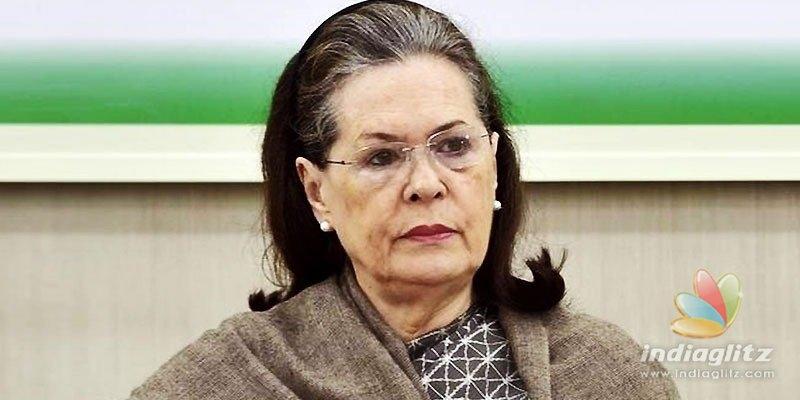 Breaking! FIR registered against Sonia Gandhi