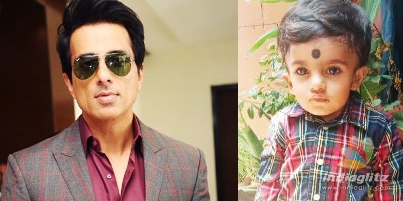 Sonu Sood to sponsor surgery of kid of Tollywoods manager