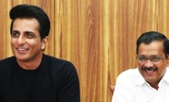 Sonu Sood opens up on tax raids, Kejriwal supports him