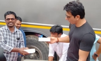 100 mobile phones for workers of Acharya team thanks to Sonu Sood