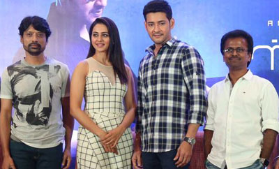'Spyder' Press Meet In Chennai