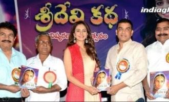 Rakul Preet launches Athiloka Sundari Sridevi Katha Book