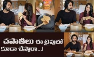 Chiranjeevi Daughter Srija & Kalyan Dev Hilarious Video | Kalyan Dev Cooking at Home