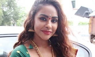 Police complaint after strangers 'attack' Sri Reddy