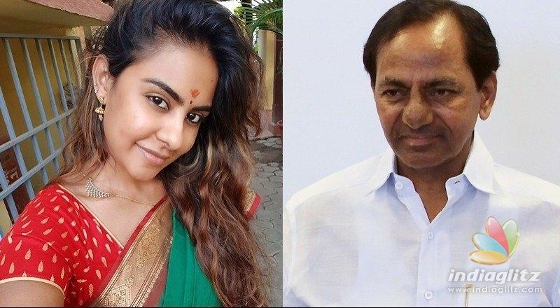 నేను గెలిచాను.. థ్యాంక్యూ కేసీఆర్ గారు..: శ్రీరెడ్డి