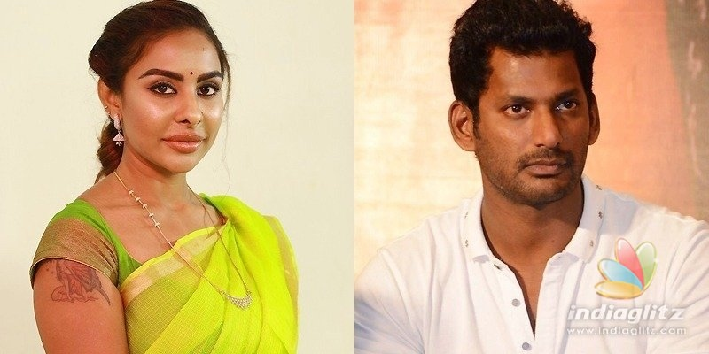 Sri Reddy targets Vishal, alleges he exploited actresses