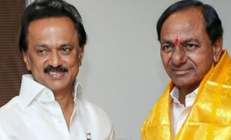 Did Stalin make that request to KCR?