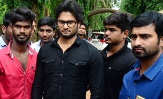 Sudheer Babu Fans Meet at Rajahmundry