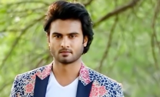 Sudheer Babu 'turns' Baba, floats in the air!