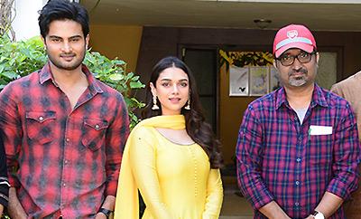 Sudheer Babu - Indraganti Film Launched
