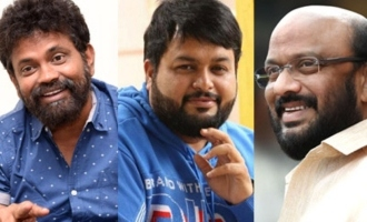 Haarika & Hassine, Mythri, Sukumar, Thaman make donations